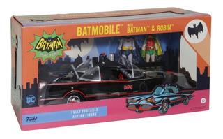 Funko Batimovil 1/18 +batman&robin Adam West Supertoys