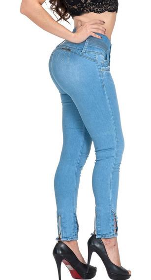 15 Jeans Mujer Levanta Pompa Colombiano Pushup Mayoreo Mezcl