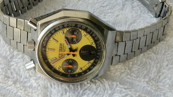 Reloj Citizen Bullhead Cronografo Automatico En Acero