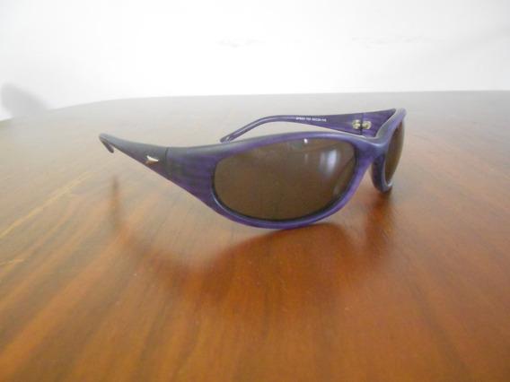 Óculos De Sol Speedo Acetato Roxo Escuro Original