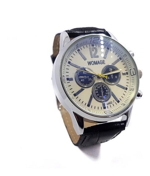 Reloj Caballero Classico Est. Aviador Moda Promo