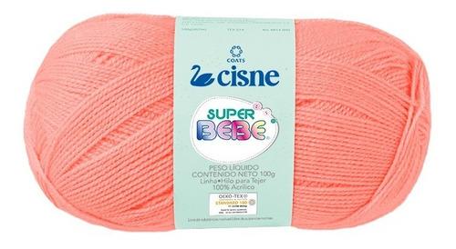 Imagen 1 de 4 de Lana Cisne Super Bebe X 5 Ovillos - 500gr Por Color