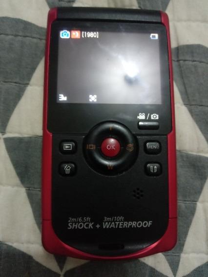 Filmadora Full Hd Prova De Água Shock Samsung W200 Hd 1080p