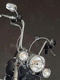 Guidão Cromado 14 Harley Davidson Softail Usado