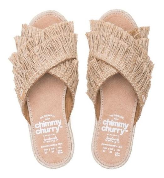 Sandalia Chimmy Churry Cross Jute Fur