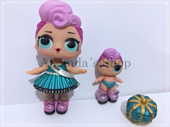 Boneca Lol E Lil Miss Punk Brinquedo Menina Aberta