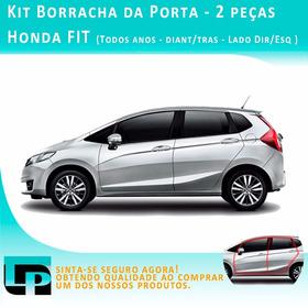 Kit 2 Peças Borracha Da Porta Honda Fit - Todos Anos