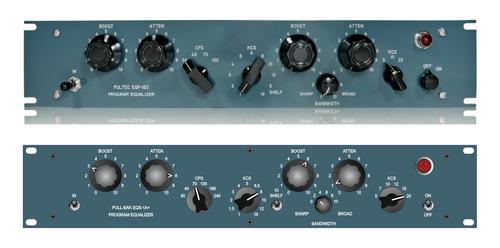 Equalizador Passivo Estilo Pultec Eqp-1a Stereo Masterização