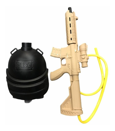 Rifle Francotirador C/ Mochila Negra Pistola Agua Pileta