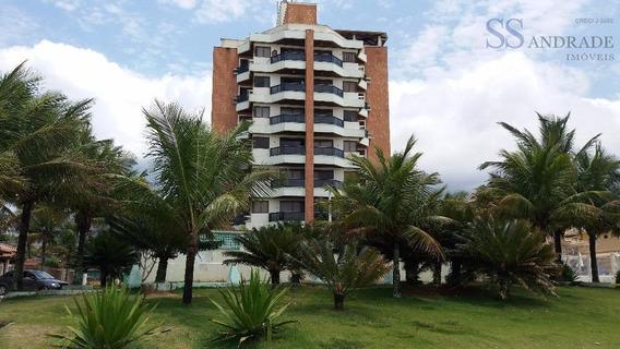 Apartamento Pé Na Areia Com Vista Espetacular Para O Mar Com 117,98m² De Área Útil. Excelente Investimento. - Ap0059