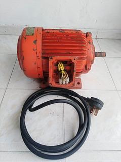Motor Trifasico Siemens 1730 Rpm 9hp Caballos 5.5kw Usado