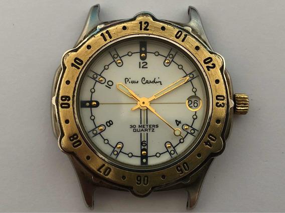 Pierre Cardin Date Quartz Pequeno Cx10