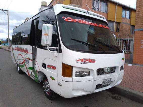 Nissan Tk55 Mod 2011 Buseta 25psj Servicio Intermunicipa