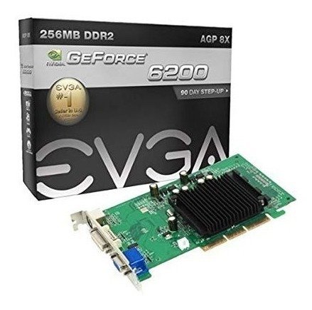 Geforce 6200 Ddr2 256mb Agp