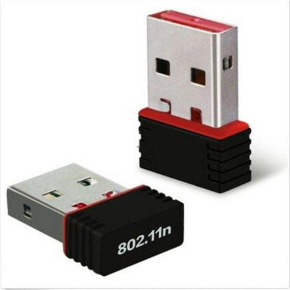 Mini Adaptador Receptor Wireless Usb Mini 450mbps Pc Not
