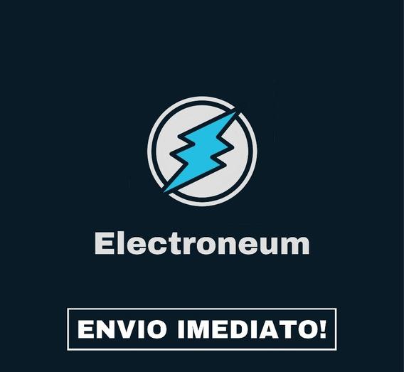Comprar 200 Electroneum, Recebe No Mesmo Dia