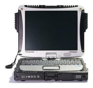 Laptop Panasonic Touchbook Cf-19 Portátil Uso Rudo 4gb Ram