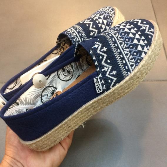 Zapatos Buddhy Originales Para Damas - Bd16052w - Navy