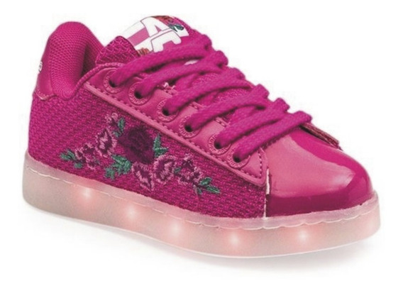 Addnice Zapatillas Luces Flores Led Recargables Usb Dep