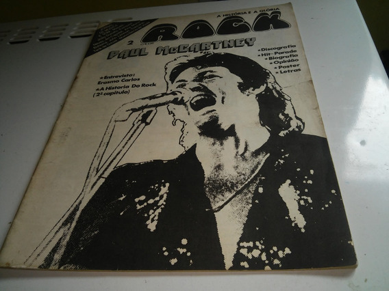 A História E A Glória Rock Paul Mccartney Nº02