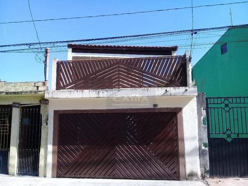 Sobrado Residencial À Venda, Guaianazes, São Paulo. - So13471