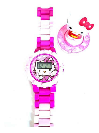 Reloj De Juguete Electronico Kitty Niña Armable Ajustable