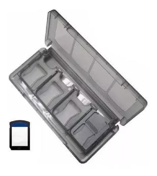 Caixa Case Estojo 10 Espaços Porta Jogos Sony Psvita Cartão