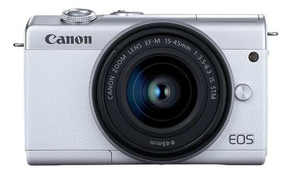 Canon EOS M200 15-45mm IS STM Kit mirrorless cor branco