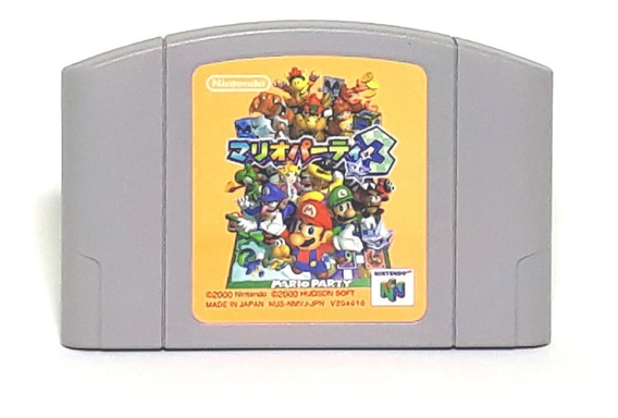 Mario Party 3 Japones Oferta! Loja Física!