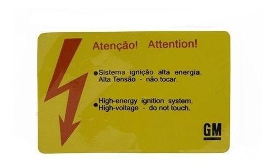 Etiqueta Sistema Ignição Eletrônica Astra/ Vectra/ 93233980