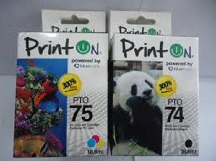 Cartuchos Printon 75 Color