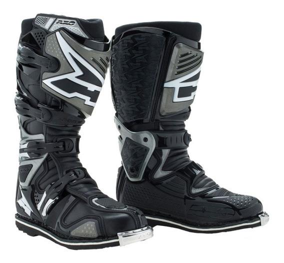 Botas Moto Cross Enduro Axo A2 Articulada Con Punteras Solomototeam