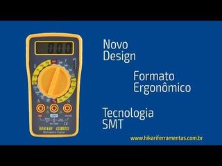 Multímetro Digital Modelo: Hm-1000 Cód. Ucb: 21n079