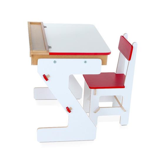 Mesa Infantil Versátil Em Forma De Baú Carlu 501530