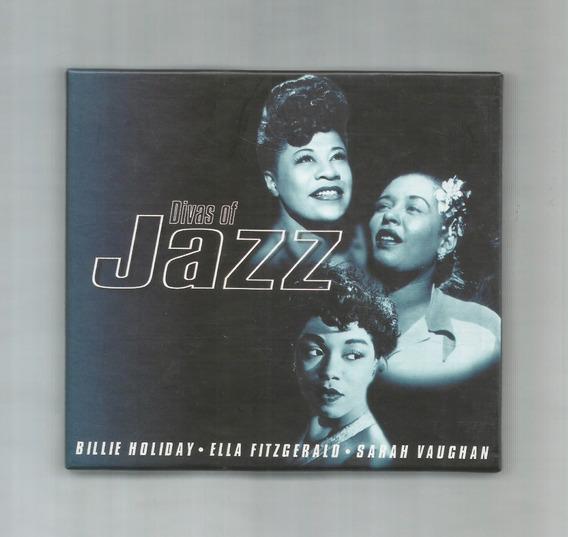 Divas Of Jazz Billie Holiday Fitzgerald Vaughan 3cd Box Set