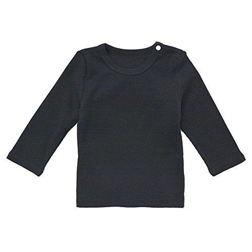 Camiseta De Bebe Unisex Camiseta De Manga Larga De Algodon T