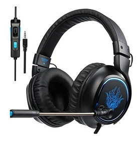Headphone Headset Gamer Profissional Xbox One Ps4 Sades R5
