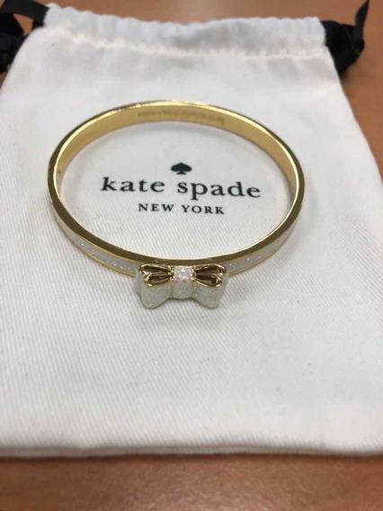 Pulsera De Moño Con Brillos Kate Spade Nueva