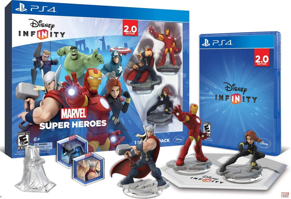 Disney Infinity 2.0 Starter Pack Marvel Super Heroes P/ Ps4