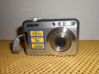 Camara Digital Sony Dsc-s650 De 7.2 Mgpx (01)