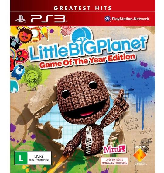 Jogo Litte Big Planet Ps3 M. Fisica