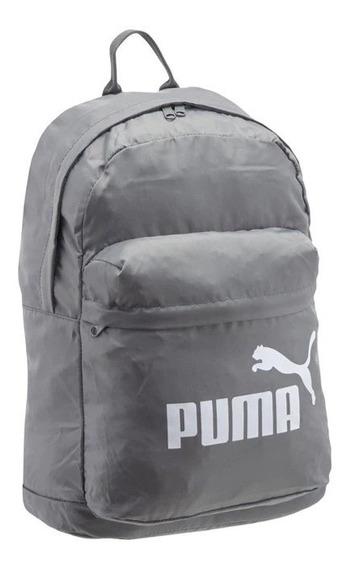 Mochila Puma Classic Backpack Charcoal Grey