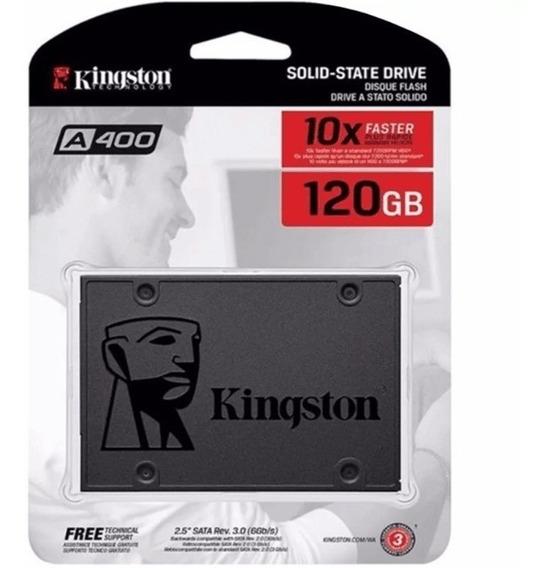 Ssd 120gb Kingston Para Notebook Positivo Unique S1991