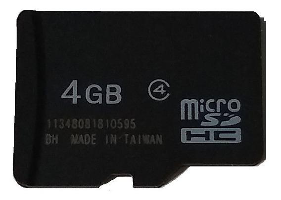 Cartão De Memória Micro Sdhc 4gb C/3 Unidades/pronta Entrega