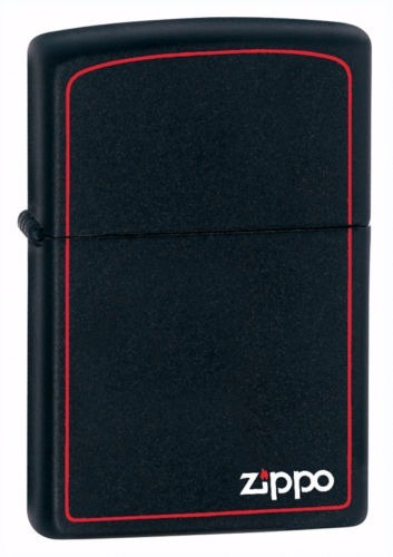 Encendedor Zippo Negro Matte Original #218zb Made In Usa