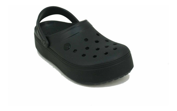 Crocband Plataforma Negro Dama Deporfan
