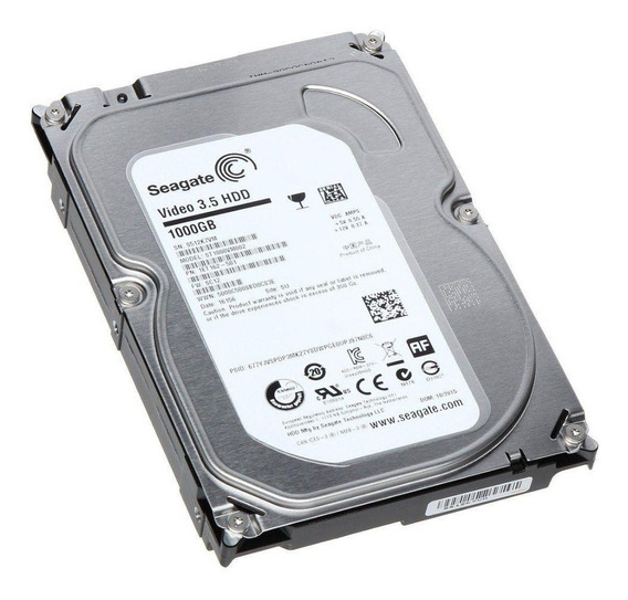 Hd 1tb Sata 3 Seagate Novo P/ Dvr Pc Desktop Envio Imediato!