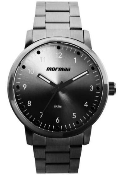 Relógio Mormaii Masculino Grafite Mo2035jd/4p