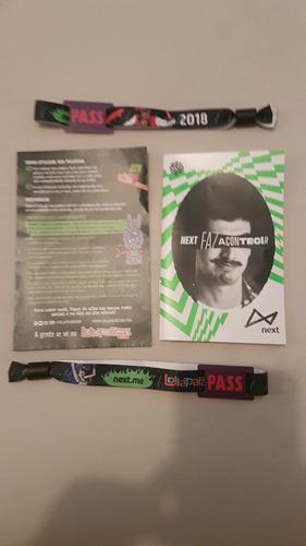 Lolla Pass Inteira Para Lollapalooza Brasil 2018