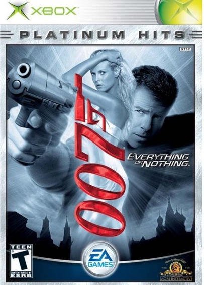 007 Everything Or Nothing Platinum Hits - Xbox - Lacrado Nf